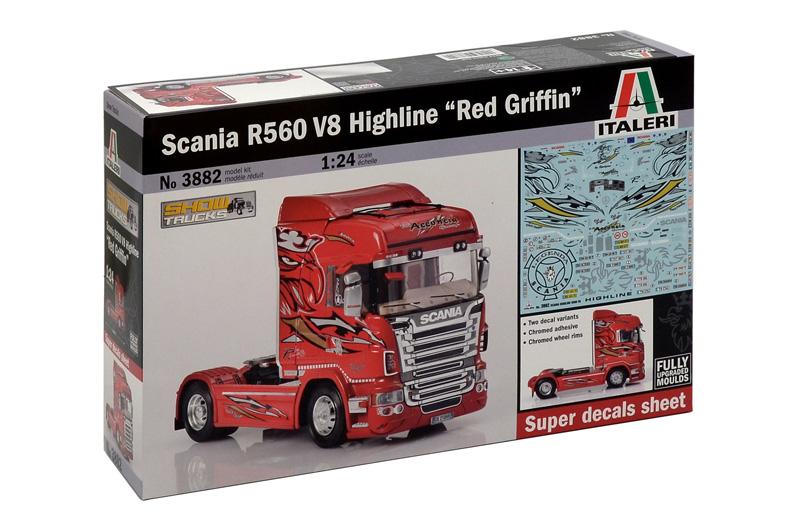 Italeri Scania R560 Highline Rouge Griffin 1/24 3882