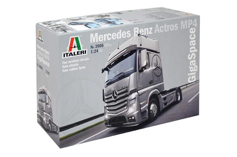 Italeri Mercedes Benz Actros MP4 Gigaspace 1 24 3905