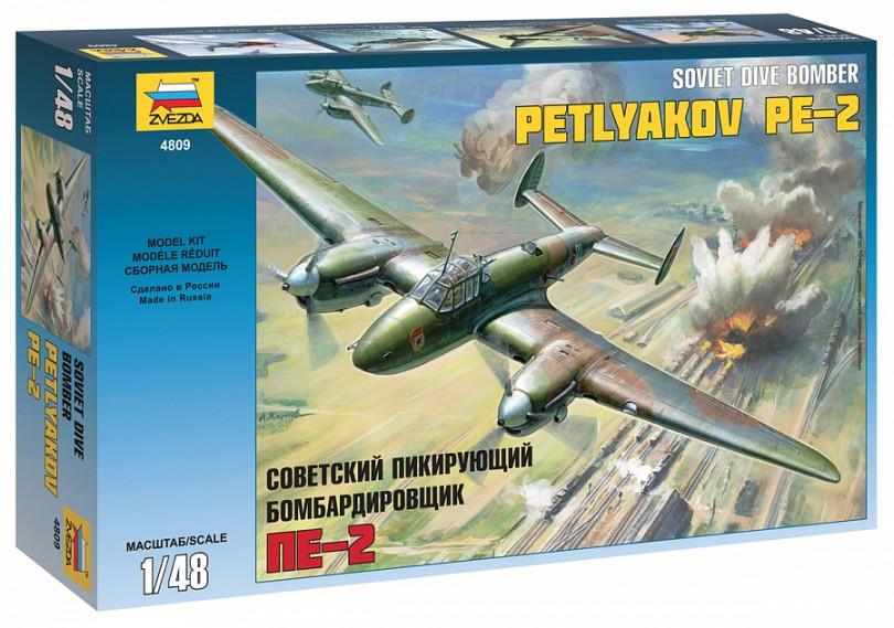 Zvezda 1 48 Petlyakov PE-2 4809