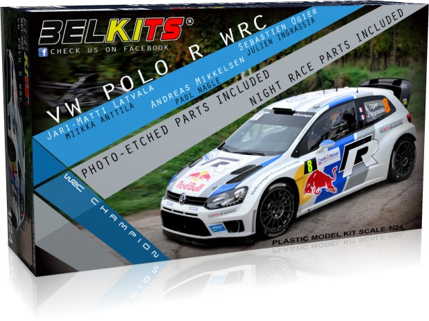 Bel Kits  VW Polo-R WRC 2013 1 24 Bel005  economico in alta qualità