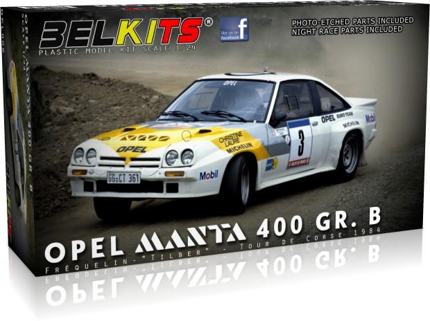 BEL Kits Opel Manta 400GR.B Guy Frequelin 1984 1 24 BEL008