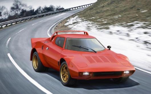 Italeri 1 24 Lancia Stratos HF 3624
