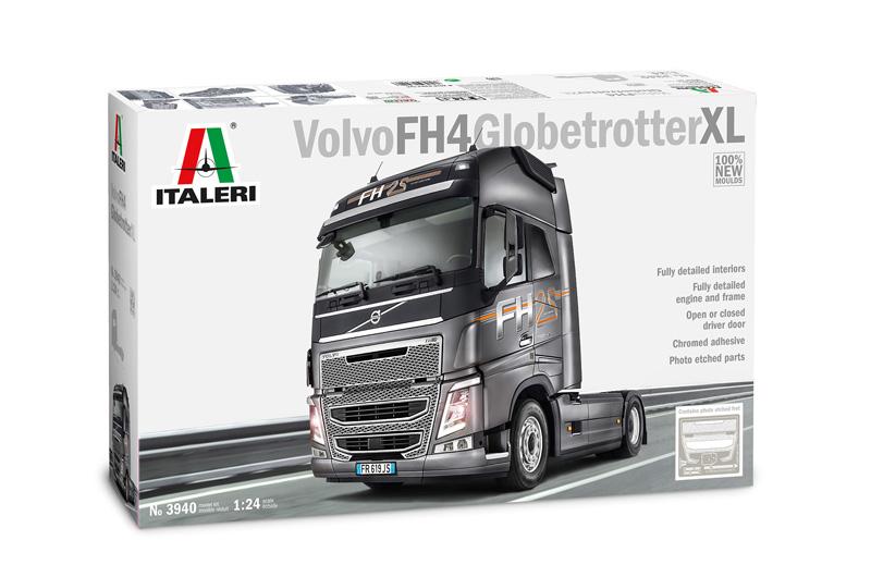 Italeri Volvo Fh4 Globetrojoter XL Camion 1 24  3940