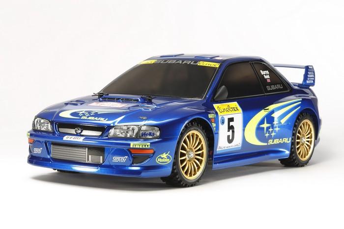 Tamiya RC Subaru Impreza TT 02 Monte Carlo 99 Kit 58631 12499