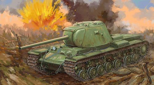 Trumpeter 1 35 Russian KV-3 Heavy Tank 09544