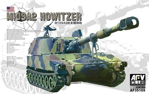 AFV Club M109A2 Howitzer Tank  1 35 AF35109