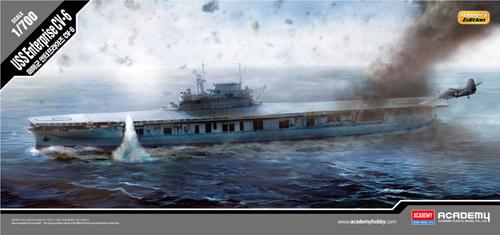 Academy USS Enterprise  CV-6 Modelllers Edition 1 700 14224
