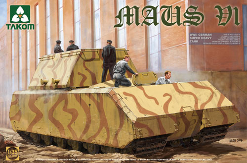 Takom WW11 German Super Heavy Tank Maus V1 1 35 2049