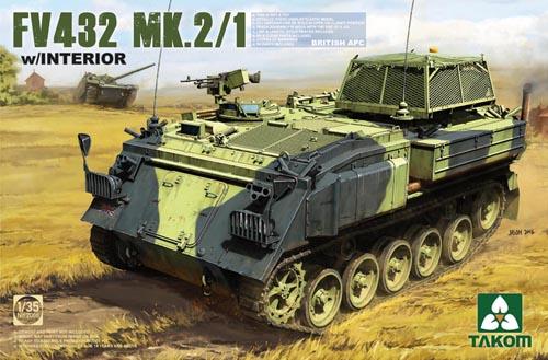 Takom British APC FV432 Mk2 1 With Interior 1 35 PKTAK2066