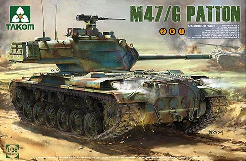 Takom Us Cochero Armato Medio M47   G 2 in 1 Kit 1 3 5 02070