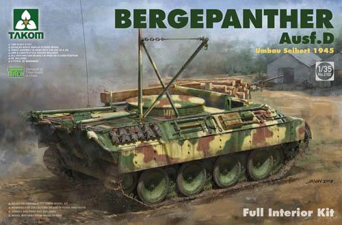 Takom 1 35 Bergepanther Ausf.D  2102