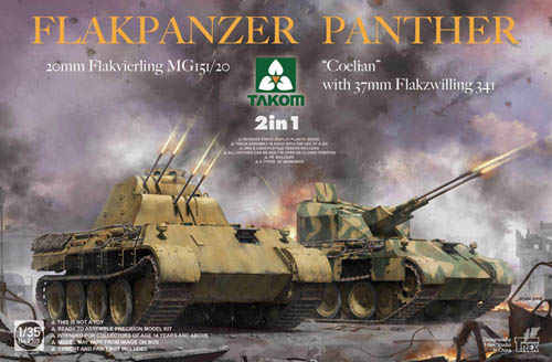 Takom Flakpanzer Panther 2 In 1