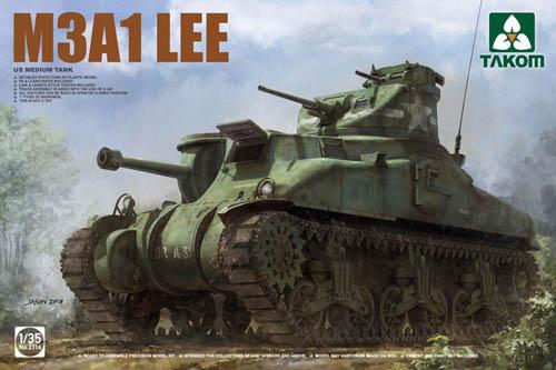 Takom 1 35 M3A1 Lee US Medium Tank 2114