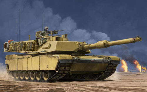 Trumpeter 1:16 M1a2 Us Sep Mbt 00927 9580208009278