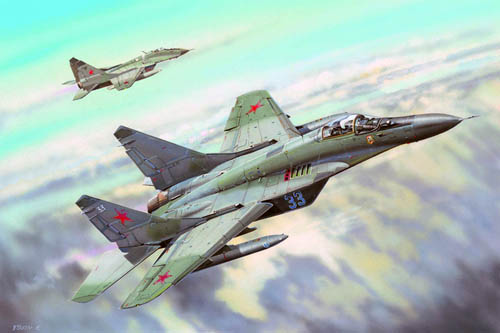 Trumpeter de Rusia Mig-29C Fulcrum 1 32 03224