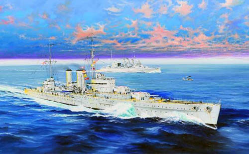 Trumpeter Hms Exeter 1: 3 50 05350