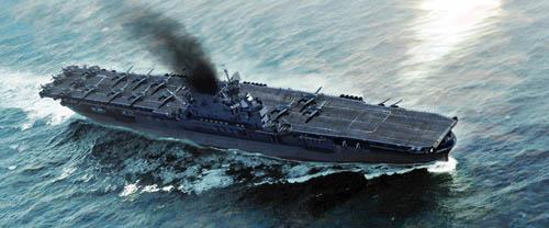 Trumpeter 1 700 USS Enterprise CV-6 06708
