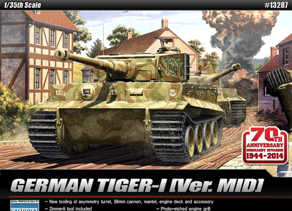 Academy 1 35  Normandy 70th Anniversary  Tiger I Mid 13287