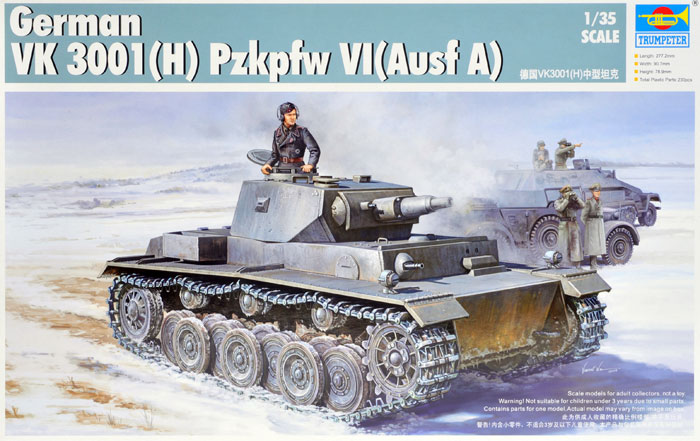 Trumpeter 1 35 German VK 3001(H) Pzkpfw V1(Ausf A) 01515