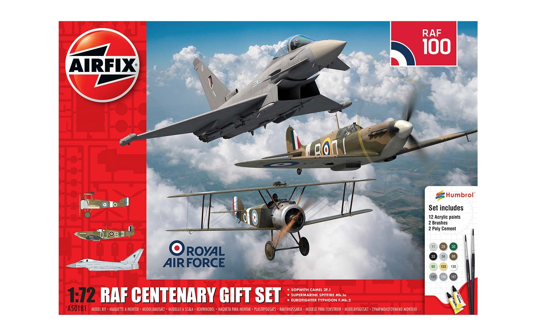 Airfix RAF Centenary Gift Set 1 72 A50181