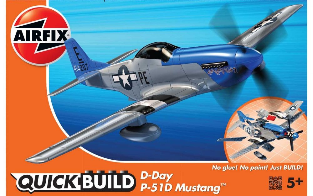 Airfix Quick Build Mustang D Day J6046