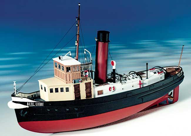 Calder Artisanat Alte Liebe 1930s Allemand Harbour Remorqueur 1020mm 1/24 7020