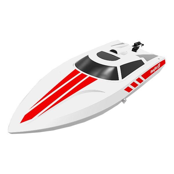Volantex VECTOR 28 Mini Barca da regata RTR bianco v795-1w