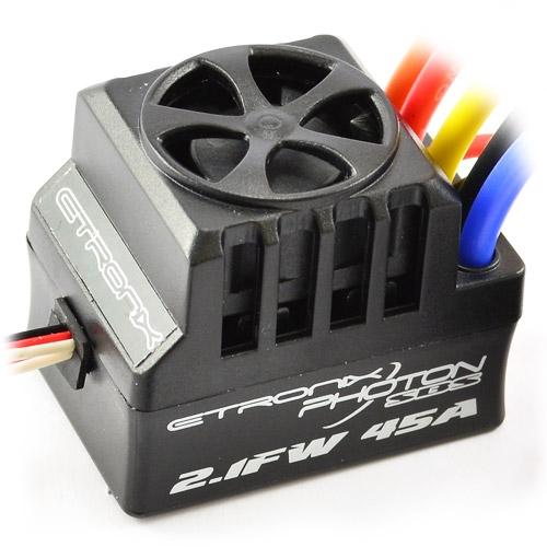 Etronix FOTONE 2.1fw 60AMP Completo impermeabile senza spazzola ESC et0129